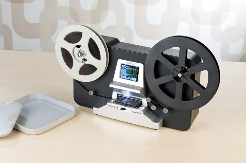 scanner de pellicule pour films 8 mm et super 8. Black Bedroom Furniture Sets. Home Design Ideas