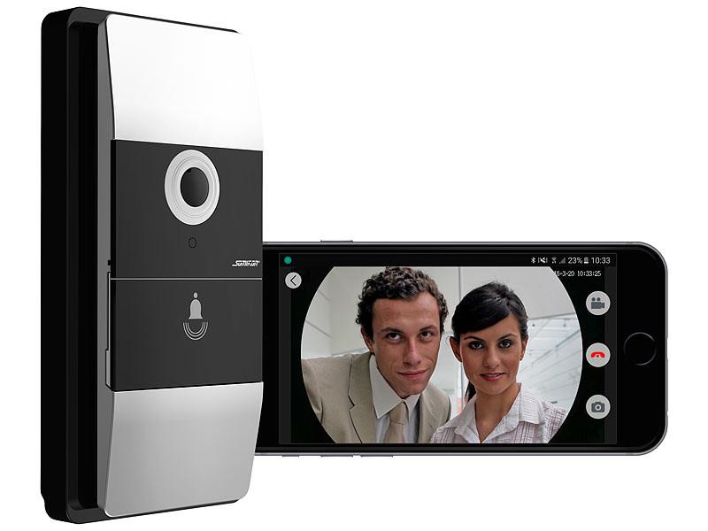 Visiophone sans fil 180° avec wifi et contrôle par application ...